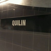 Photo taken at Metro Quilín by Alfred H. on 4/27/2012