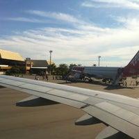 Photo taken at Aeroporto de Caldas Novas (CLV) by Michelle R. on 4/15/2012