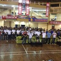 Photo taken at Gor kesenian Cibinong by Gavendra D. on 6/2/2012