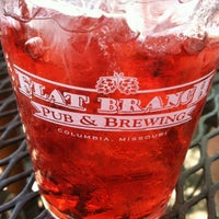 Photo taken at Flat Branch Pub & Brewing by Liz O. on 5/27/2012