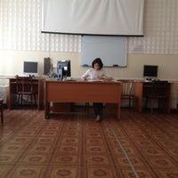 Снимок сделан в ПетрГУ (Петрозаводский государственный университет) пользователем Kirill K. 5/29/2012