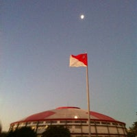 Photo taken at Beira-Rio Stadium by Rafael P. on 4/1/2012