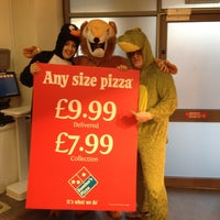 Photo taken at Domino's Pizza by Chris C. on 2/11/2012