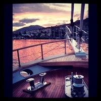 Photo taken at Patmos by deniz k. on 8/20/2012