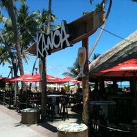 Foto tirada no(a) Kanoa Beach Bar por Marcos S. em 2/24/2012