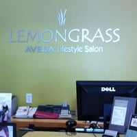 Photo taken at Lemongrass Salon Aveda by Eric C. on 8/7/2012