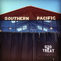 Photo taken at Southern Pacific Brewing by Sean G. on 4/14/2012