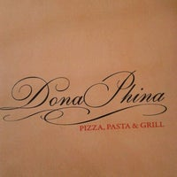 Photo taken at Dona Phina Pizza, Pasta & Grill by Luiz Carlos P. on 7/13/2012