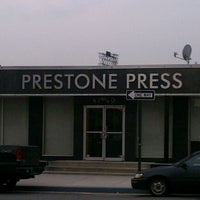 Photo taken at Prestone Press by Lloyd M. on 3/28/2012