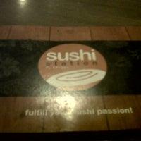 Photo taken at Sushi Station Bintaro 9 Walk by Galuh T. on 7/17/2012