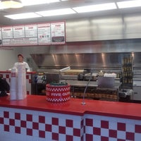 Photo taken at Five Guys by Andrew R. on 6/16/2012