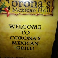 Photo taken at Corona's Mexican Grill by Snowfall R. on 2/25/2012