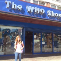 Photo taken at The Who Shop & Museum by Ed C. on 8/17/2012