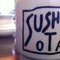 Photo taken at Sushi Ota by Sarah K. on 5/28/2012