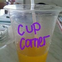Photo taken at Cup Corner by De L. on 2/25/2012