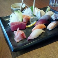Photo taken at Akira Sushi Bistro by Steven C. on 4/21/2012