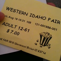 Photo taken at Western Idaho Fairgrounds by Gabriel A. on 8/20/2012
