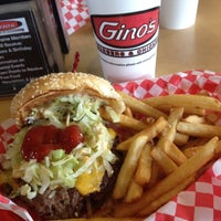 Photo taken at Gino's Burgers & Chicken by Lou S. on 7/13/2012