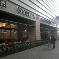 Photo taken at Fonda Argentina by Israel H. on 3/1/2012