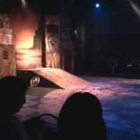 Photo taken at Teatro La Aduana by Dilana A. on 2/25/2012