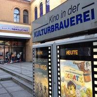 Das Foto wurde bei Kino in der Kulturbrauerei von Docjur am 7/21/2012 aufgenommen