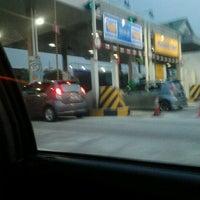 Photo taken at Plaza Tol Ayer Hitam by j i Q ' s on 7/1/2012