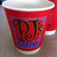 Photo taken at PJ's Coffee by Chris C. on 4/16/2012