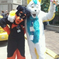 Photo taken at Anthrocon by Fryeguy on 6/15/2012