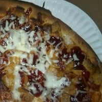 Photo taken at Pi Pizza Truck by Caro on 4/14/2012