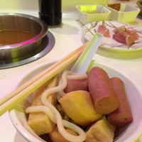 Photo taken at Shabu-Shi @ Hougang Mall by Limin T. on 4/14/2012