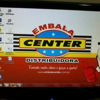 Photo taken at Embalacenter Distribuidora by Lucas M. on 6/18/2012