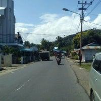 Photo taken at Tanawangko by trev p. on 2/23/2012
