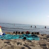 Photo taken at Playa Santa Ana by Ekaterina D. on 8/27/2012