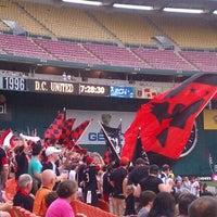 Photo taken at LOT 8 - RFK Stadium by Trish R. on 5/26/2012