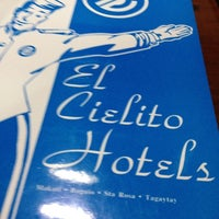 Photo taken at El Cielito Hotels by Joel Y. on 4/24/2012