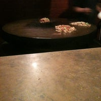Photo taken at Mongolian Grill San Jacinto by Betsee D. on 3/16/2012