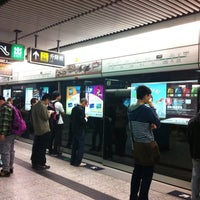 Photo taken at MTR Kowloon Tong Station by Aprfool D. on 4/7/2012