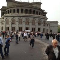 Снимок сделан в Площадь Свободы пользователем Sergey 5/3/2012