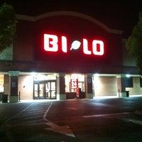 Photo taken at Bi-Lo by Pee A. on 3/24/2012