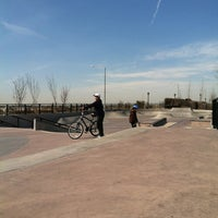 Photo taken at Far Rockaway Skatepark by Eric G. on 4/14/2012