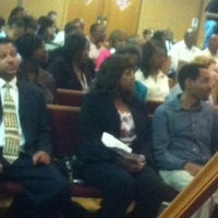 Photo taken at Greater Mt. Zion Baptist Church by Kimberly W. on 4/1/2012