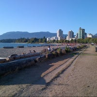 Photo Taken At English Bay Beach By Marc C On 9 4 2017