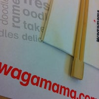 Photo taken at Wagamama by Oriol M. on 7/7/2012