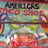 Photo taken at America's Taco Shop by VeriJaz I. on 5/29/2012
