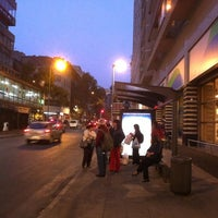 Photo taken at Paradero PA256 by Pablo R. on 4/12/2012