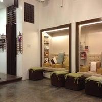 Photo taken at Manos Nail Lounge by Marga on 8/25/2012