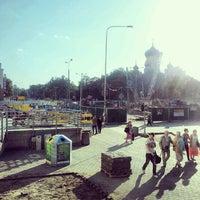 Photo taken at Plac Wileński by Maciej M. on 7/22/2012