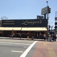Photo taken at Langer's Delicatessen-Restaurant by LoveLilyStarGazers on 5/19/2012