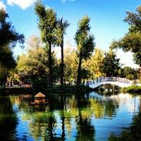 Photo taken at Swan Lake by Oksana I. on 8/19/2012
