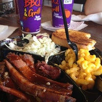 Photo taken at VooDoo BBQ & Grill Uptown by Greg C. on 6/20/2012